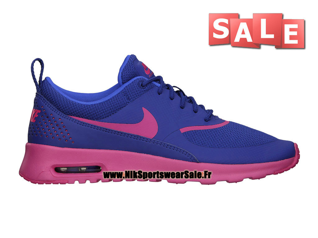 nike air max thea gs chaussures officiel nike pas cher pour femme fille bleu royal profond. Black Bedroom Furniture Sets. Home Design Ideas