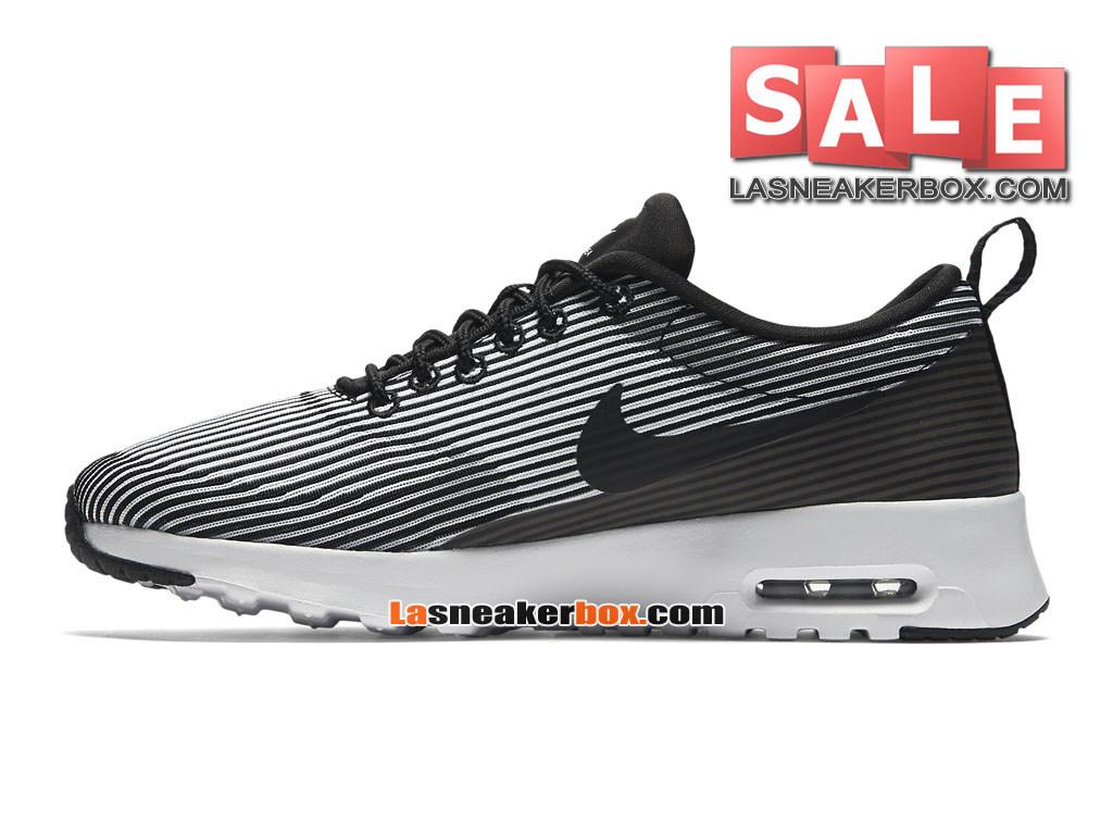 new concept bb8b6 200d6 ... Nike Air Max Thea Jacquard GS - Nike Sportswear Chaussure Pas Cher Pour  Femme Enfant ...