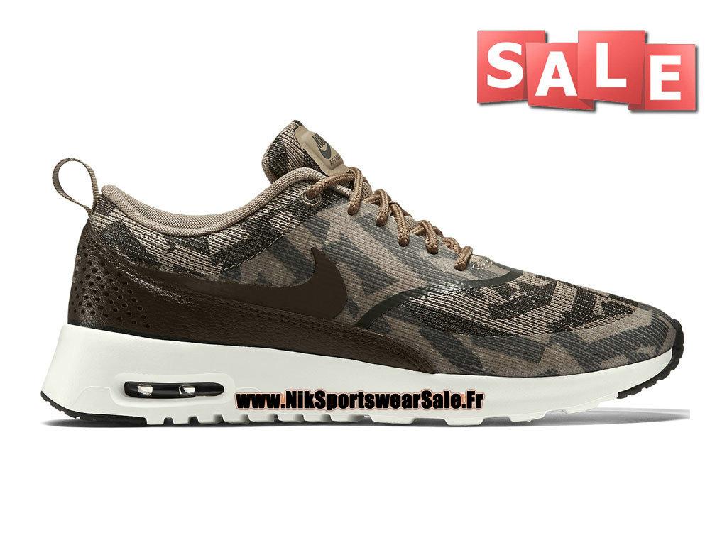 46a3854e365 Nike Air Max Thea Jacquard GS - Officiel Nike Chaussure Pas Cher Pour Femme  Enfant