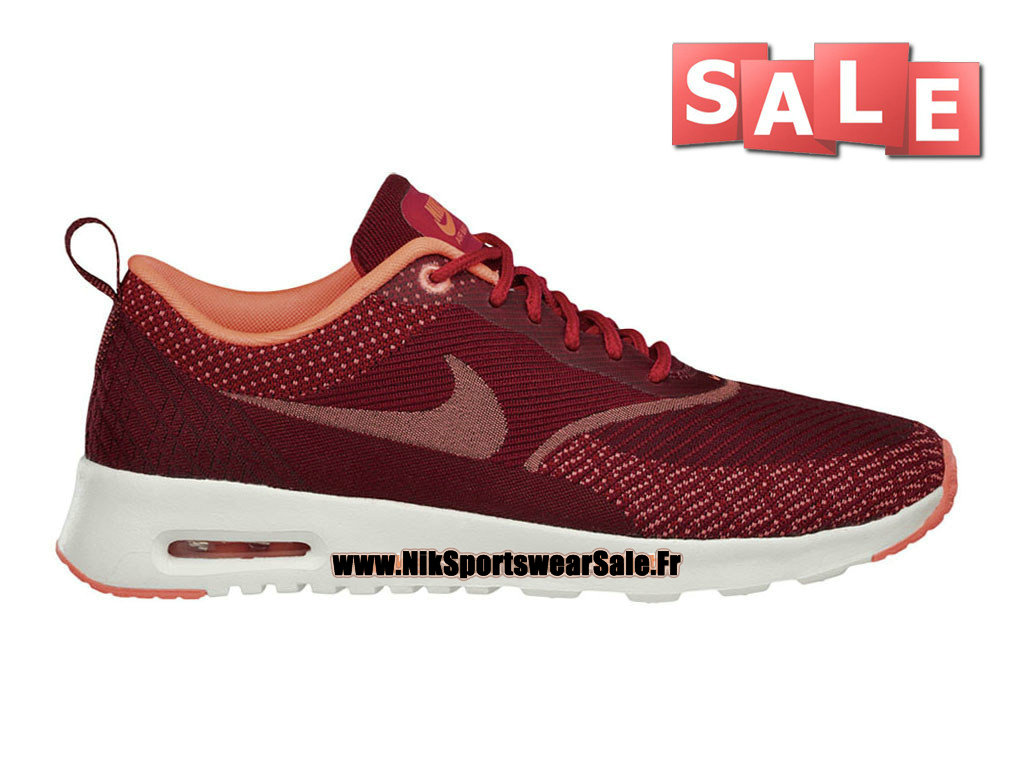 5eb1a36c9bff9 Nike Air Max Thea Jacquard GS - Officiel Nike Chaussure Pas Cher Pour Femme  Enfant ...