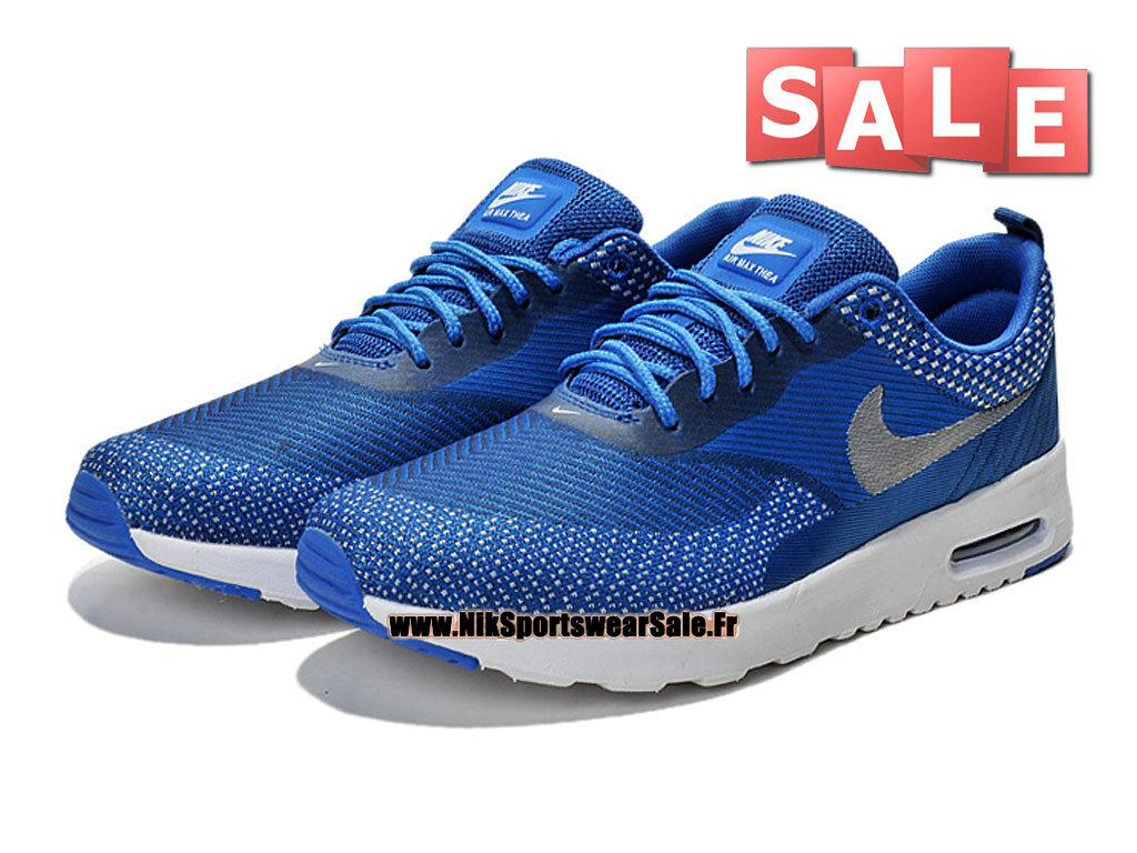 new style a4ef7 4ceaa ... Nike Air Max Thea Jacquard (Nike iD) - Nike Sportswear Chaussure Pas  Cher Pour
