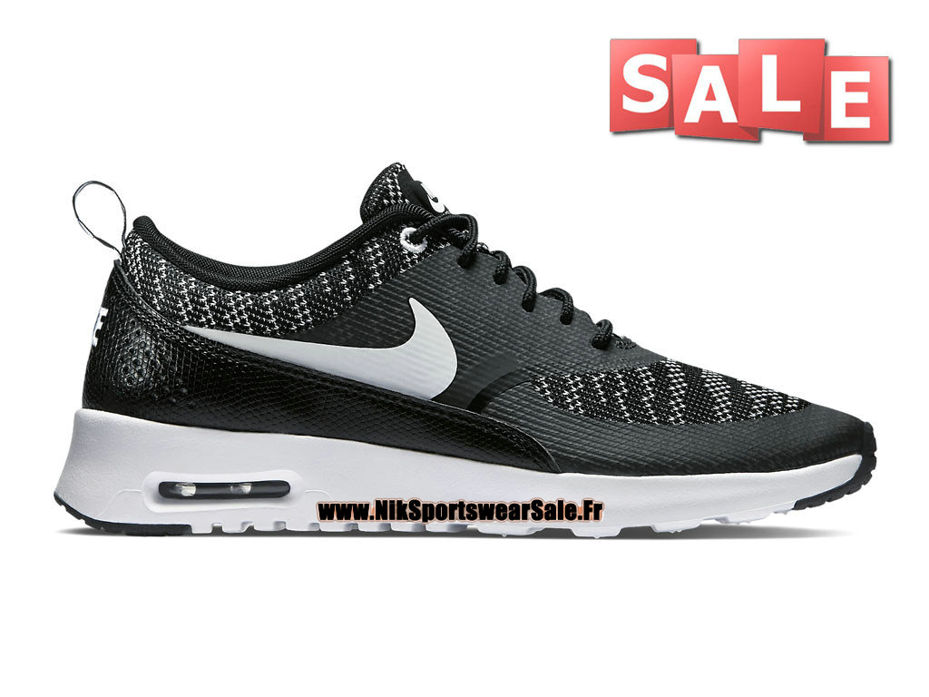 new arrival 3f713 4e293 Nike Air Max Thea Jacquard - Men´s Nike Sportswear Shoe Black White 718646