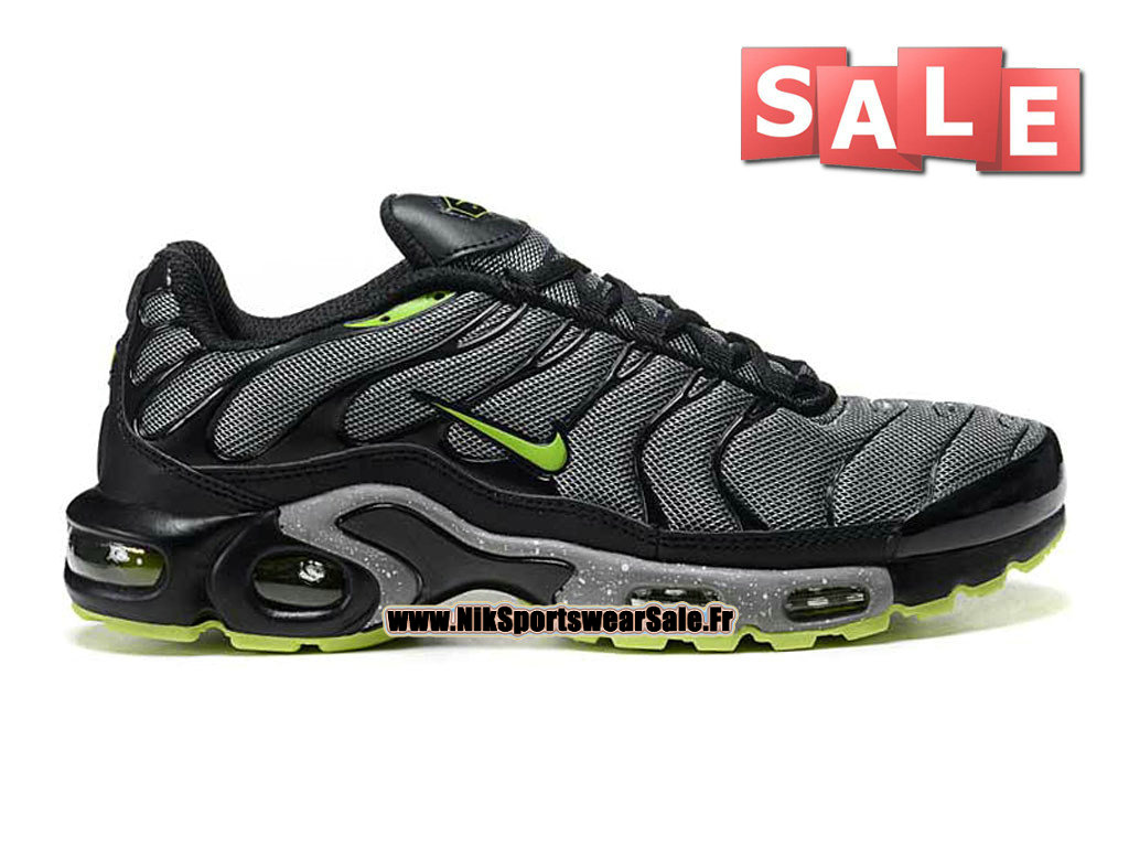 Nike Air Max Tn/Tuned Requin 2013 - Chaussures Nike Sportswear Pas Cher Pour HommeGris/Noir/Vert 604133-209