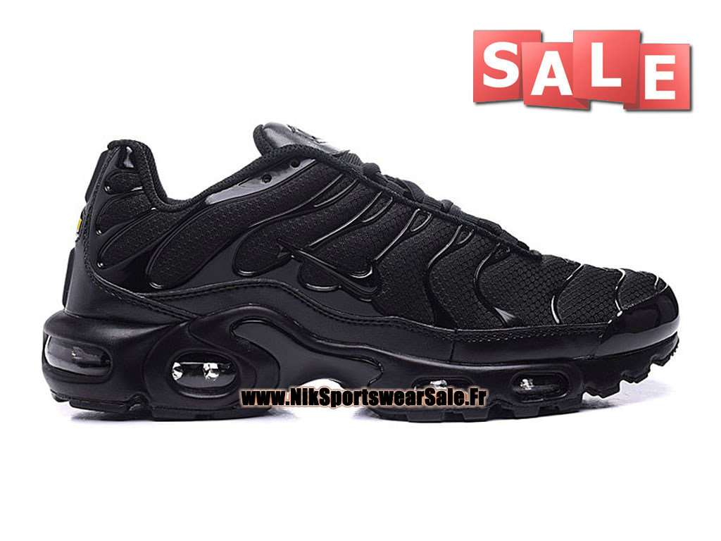 Nike Air Max Tn/Tuned Requin 2016 - Chaussures Nike Running Pas Cher Pour Homme Noir 604133-803