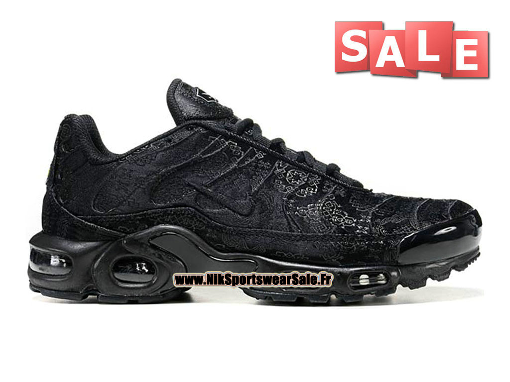 Nike Air Max Tn/Tuned Requin Mesh - Chaussures Nike Sportswear Pas Cher Pour Homme Noir 604133-106