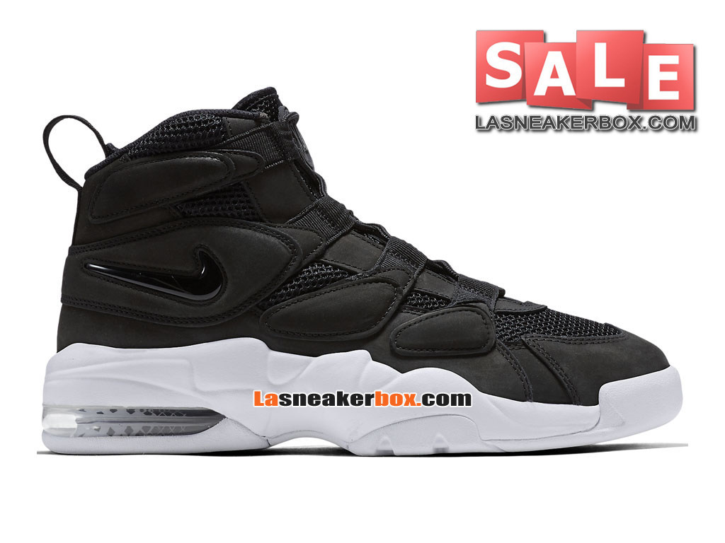 34c34fe11537f6 Nike Air Max Uptempo 2 - Men´s Nike LifeStyle Sneakers   Basketball Shoe  Black