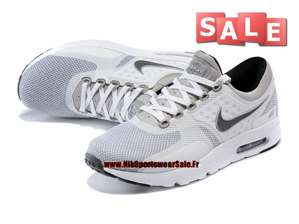 big sale 98ca2 39b4c ... france nike air max zero chaussure mixte nike sportswear pas cher  taille homme gris ce43d 6d2e9