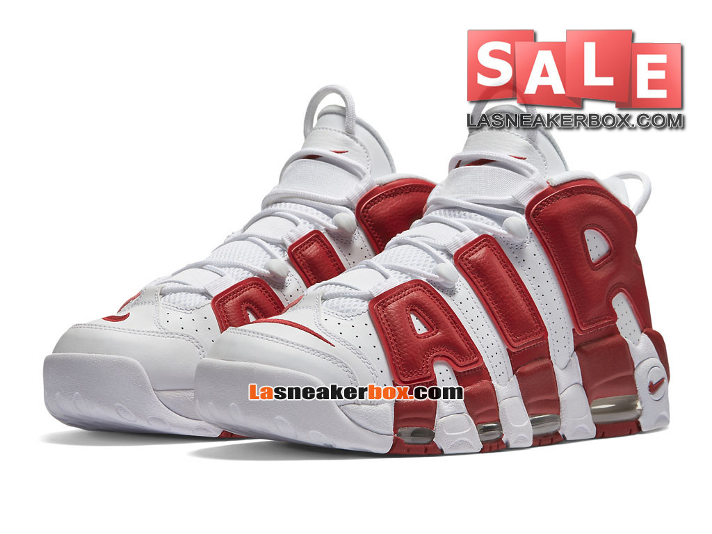 competitive price cd93c 3e5ea ... Nike Air More Uptempo (2016) - Men´s Nike LifeStyle Sneakers White ...