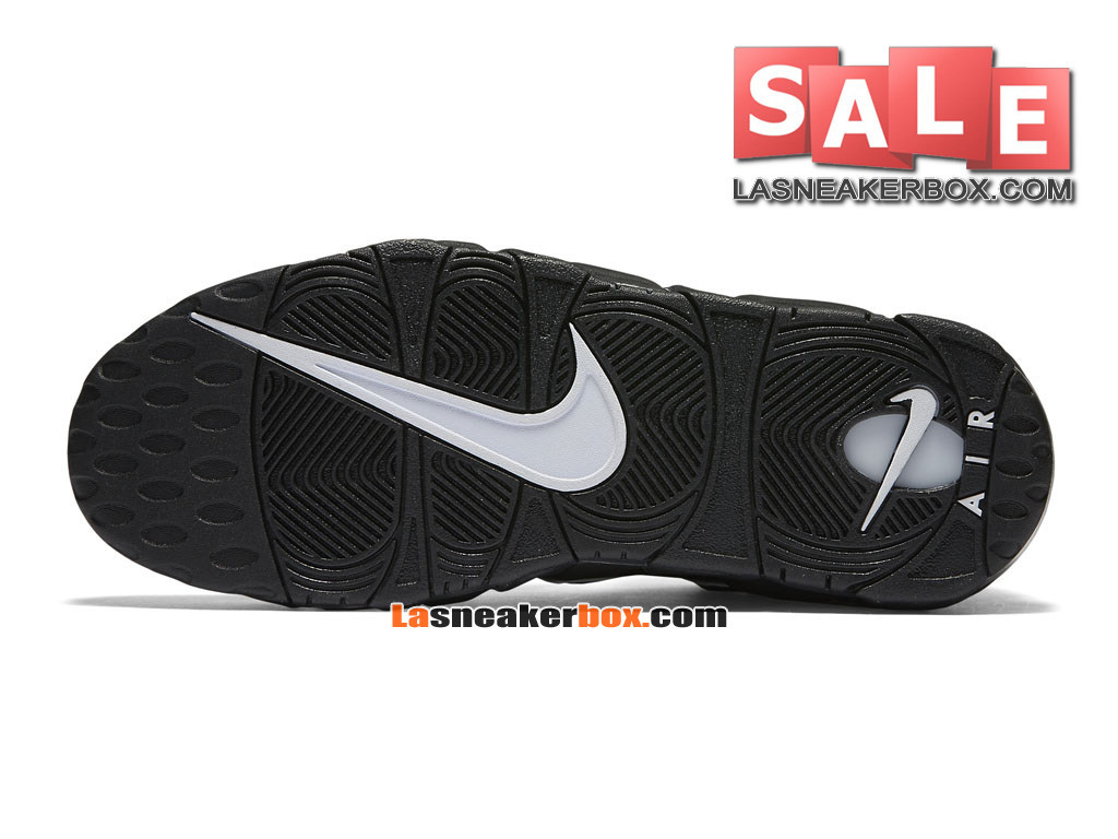 huge discount 546a2 ae979 ... Nike Air More Uptempo (2016) - Chaussures Nike LifeStyle Pas Cher Pour  Homme Noir ...