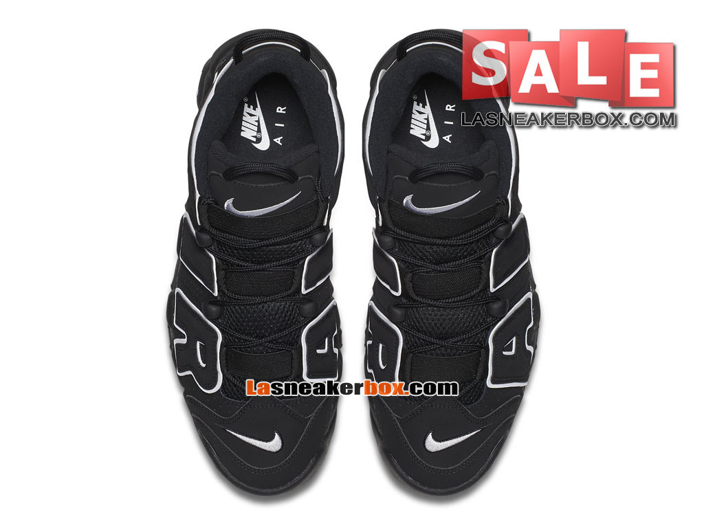 pretty nice f5a88 83ffb ... Nike Air More Uptempo (2016) - Chaussures Nike LifeStyle Pas Cher Pour Homme  Noir ...