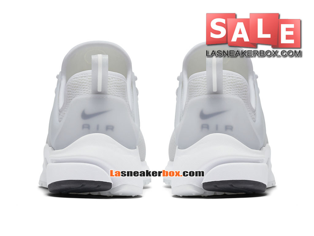 reputable site b1bf8 f9935 ... Nike Air Presto 2017 - Chaussures Sportswear Nike Pas Cher Pour Homme  Blanc Blanc