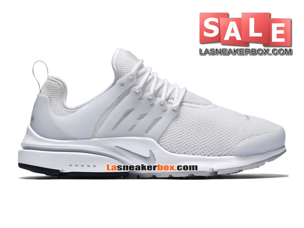 new style dc1aa 5fa18 Nike Air Presto 2017 - Chaussures Sportswear Nike Pas Cher Pour Homme Blanc  Blanc  ...