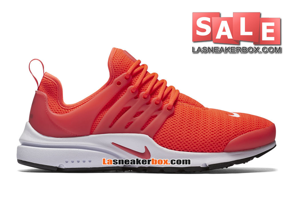 Nike Air Presto 2017 - Chaussures Sportswear Nike Pas Cher Pour Homme  Cramoisi total/Blanc ...