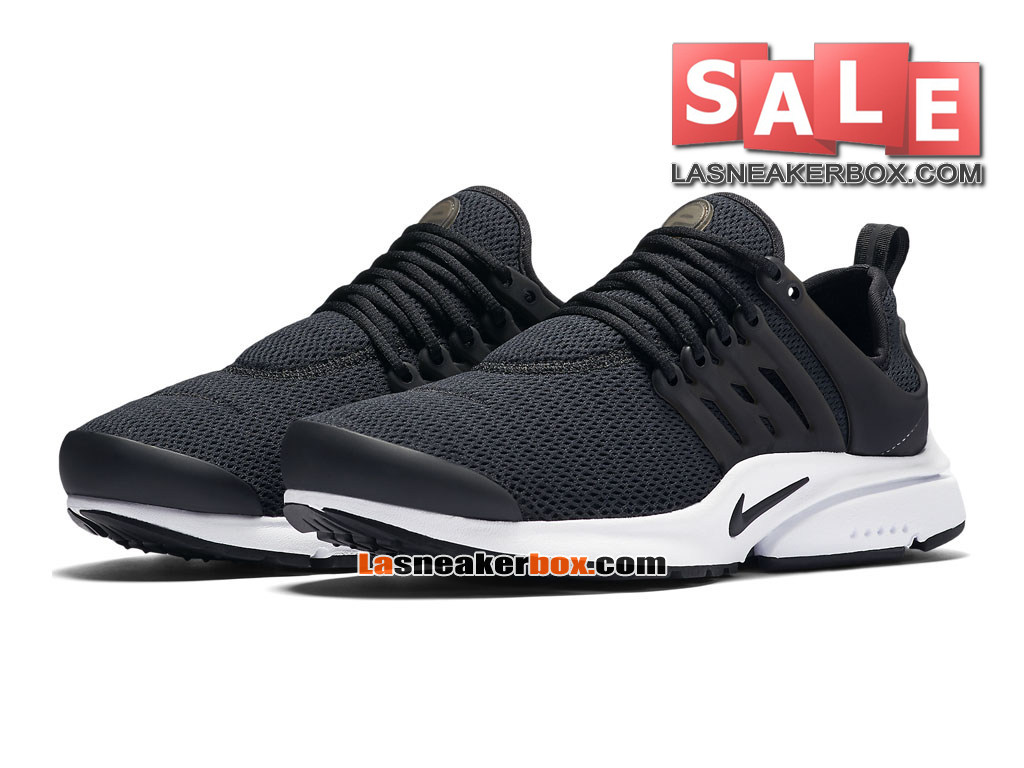 nike air presto 2017 chaussures sportswear nike pas cher pour homme noir blanc noir 846290. Black Bedroom Furniture Sets. Home Design Ideas