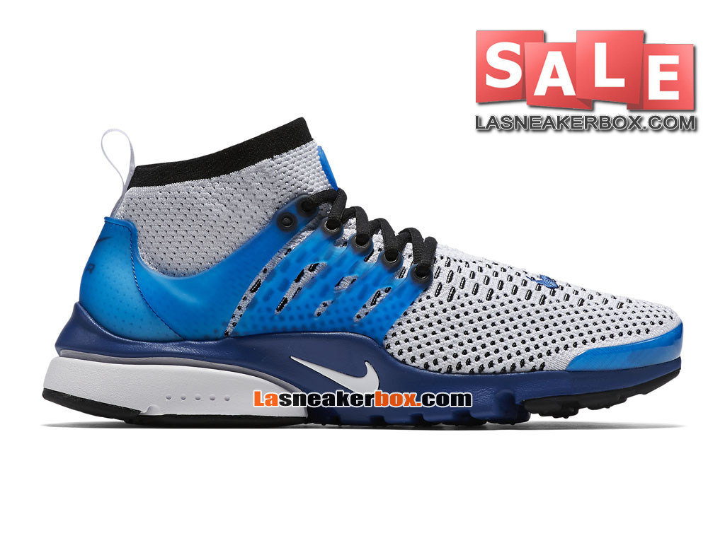new product e220e 0bb07 Nike Air Presto Ultra Flyknit - Men´s Nike Sports Shoes WhiteRacer Blue