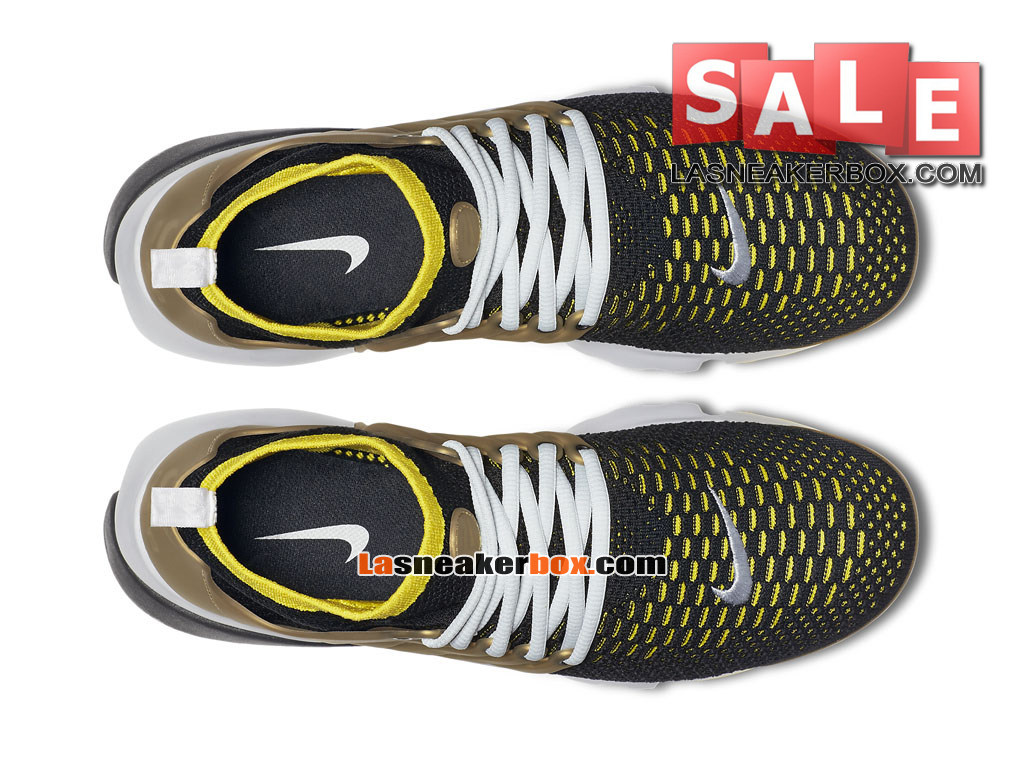 check out 746f3 9314b ... Nike Air Presto Ultra Flyknit - Chaussures de Sports Nike Pas Cher Pour  Homme Noir  ...