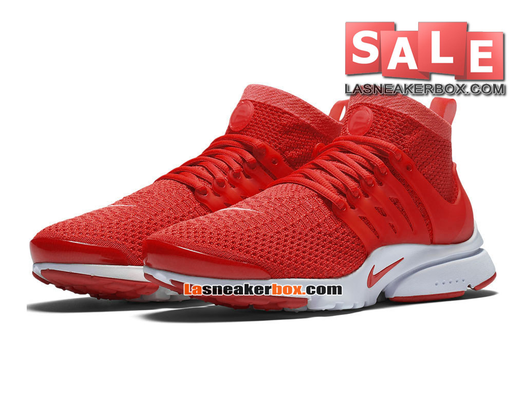 nike air presto ultra flyknit chaussures de sports nike pas cher pour homme rouge sportif. Black Bedroom Furniture Sets. Home Design Ideas