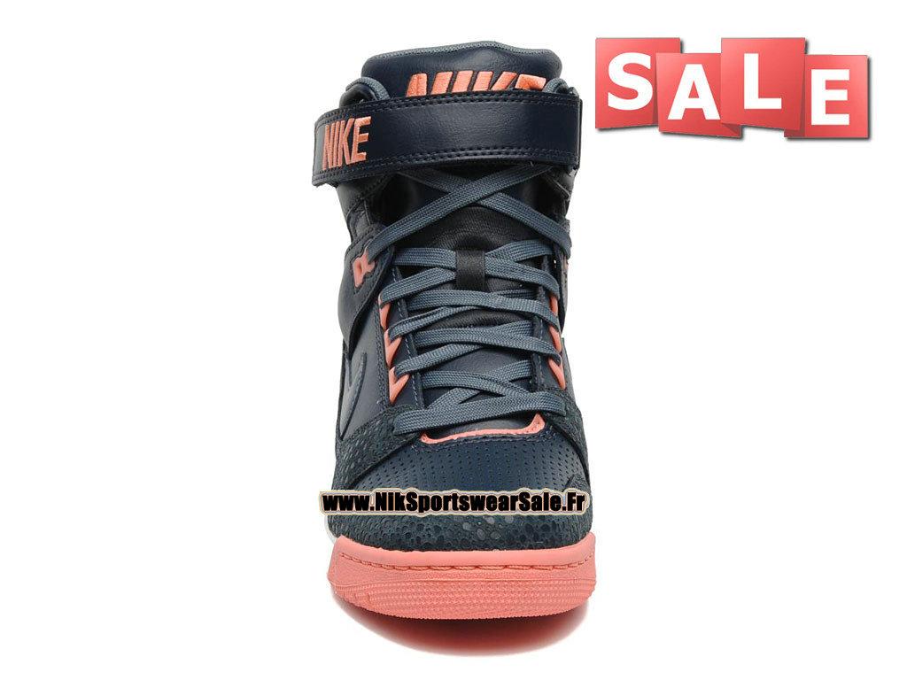 new styles f220f b9676 ... Nike Air Revolution Sky Hi GS - Women´s Nike Sport Fashion Shoe Dark  Blue ...