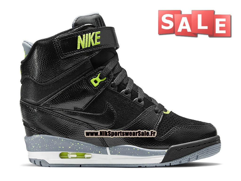 cheaper e6200 513cf Nike Air Revolution Sky Hi GS - Chaussure Montante Nike Pas Cher Pour Femme  Noir  ...