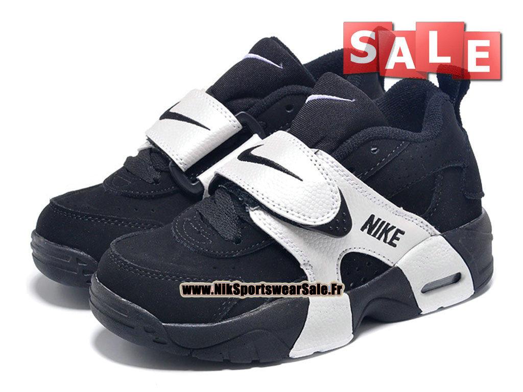 695d1747bcefc ... Nike Air Veer PS - Chaussure de Nike Sports Pas Cher Petit Enfant Noir Blanc  ...