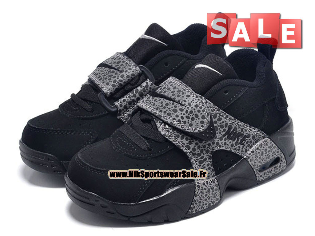 c24c781483177 ... Nike Air Veer PS - Chaussure de Nike Sports Pas Cher Petit Enfant Noir Gris  ...