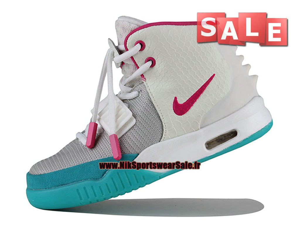 a828869ed3 ... Nike Air Yeezy 2/II GS - Chaussures Kanye West Customs Pas Cher Pour  Femme ...