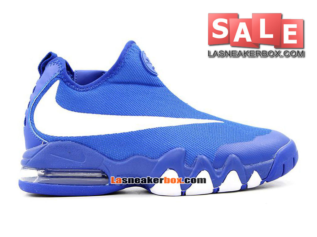 Nike Big Swoosh - Chaussures et Sneakers LifeStyle Nike Pas Cher Pour Homme Bleu royal/Blanc 832759-700