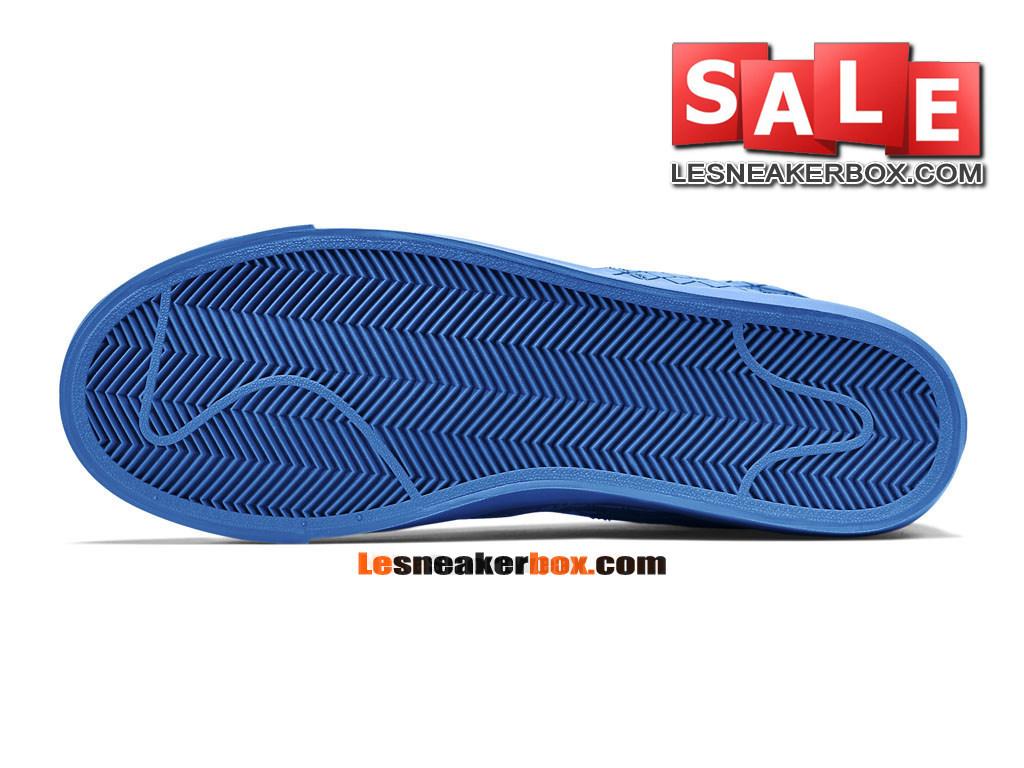 best cheap 4cf37 74d2a ... Nike Blazer Low x Pedro Lourenço - Chaussures Basses Nike LifeStyle Pas  Cher Pour Homme Bleu ...