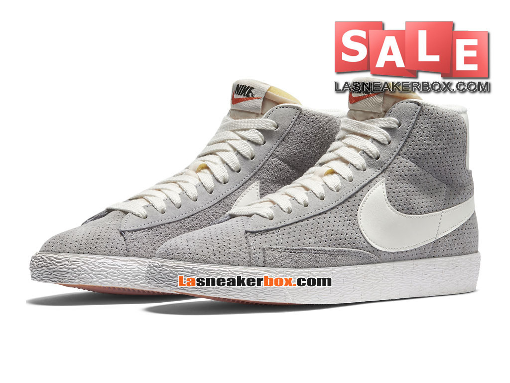 nike blazer low x pedro louren o chaussures basses nike lifestyle pas cher pour homme gris. Black Bedroom Furniture Sets. Home Design Ideas