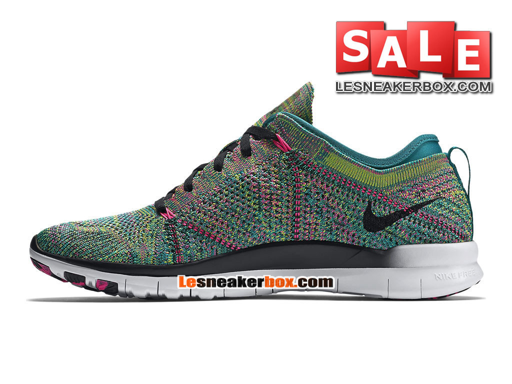 18718cea45c0 ... Nike Free TR 5.0 Flyknit - Men´s Nike Training Shoe Radiant Emerald Pink  ...