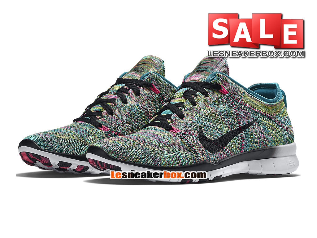 finest selection 3d088 c3a1d ... Nike Free TR 5.0 Flyknit - Men´s Nike Training Shoe Radiant  Emerald Pink ...