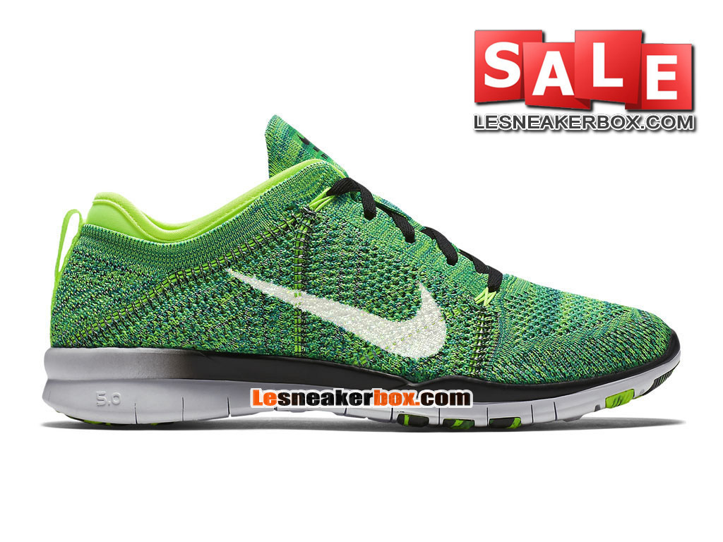 hot sale online 275e1 2ce15 Nike Free TR 5.0 Flyknit - Men´s Nike Training Shoe VoltBlack