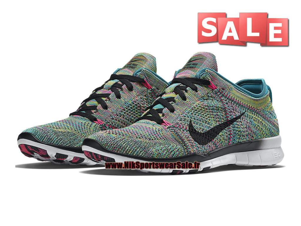 sneakers for cheap 78582 9f6bd ... Nike Free TR 5.0 Flyknit GS - Chaussure de Training Nike Pas Cher Pour  Femme  ...