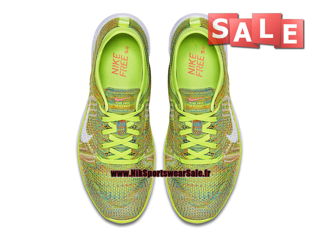online store e13a9 7df1f ... Nike Free TR 5.0 Flyknit GS - Chaussure de Training Nike Pas Cher Pour  Femme/ ...
