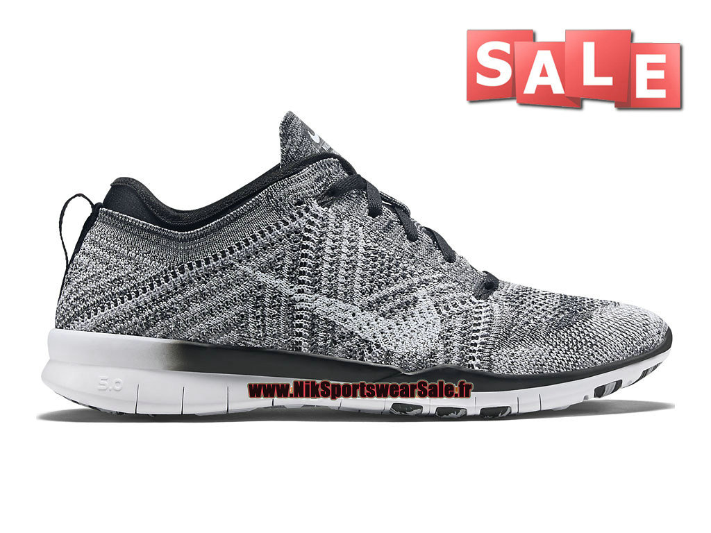 huge selection of 95b61 d9abf Nike Free TR 5.0 Flyknit GS - Chaussure de Training Nike Pas Cher Pour Femme   ...