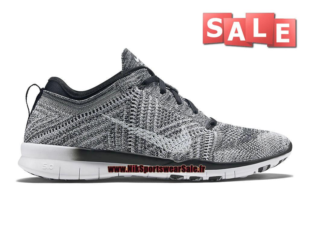 best website 6ab50 f5cf5 Nike Free TR 5.0 Flyknit GS - Chaussure de Training Nike Pas Cher Pour Femme/  ...