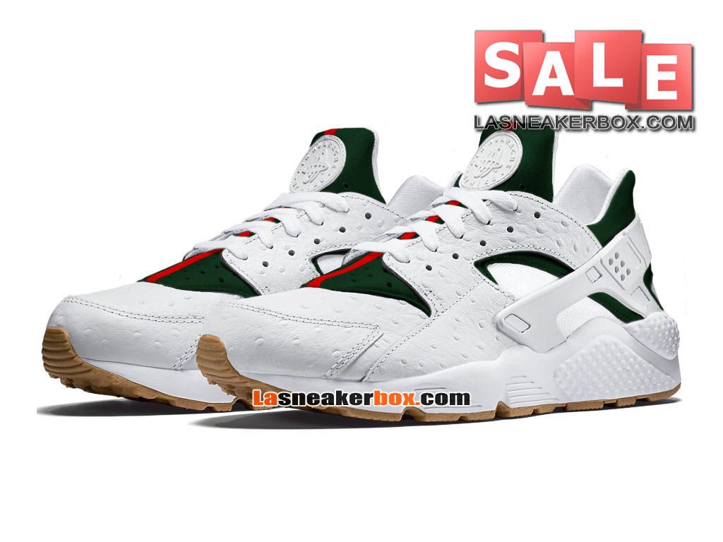 15b3a7bed1994 ... Nike Huarache Ultra Jacquard - Men´s Nike Sports Shoe White Gorge Green