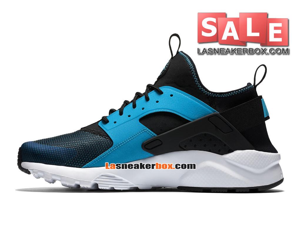 6556a01fb446c ... Nike Huarache Ultra Jacquard - Men´s Nike Sports Shoe Blue Lagoon Black   ...