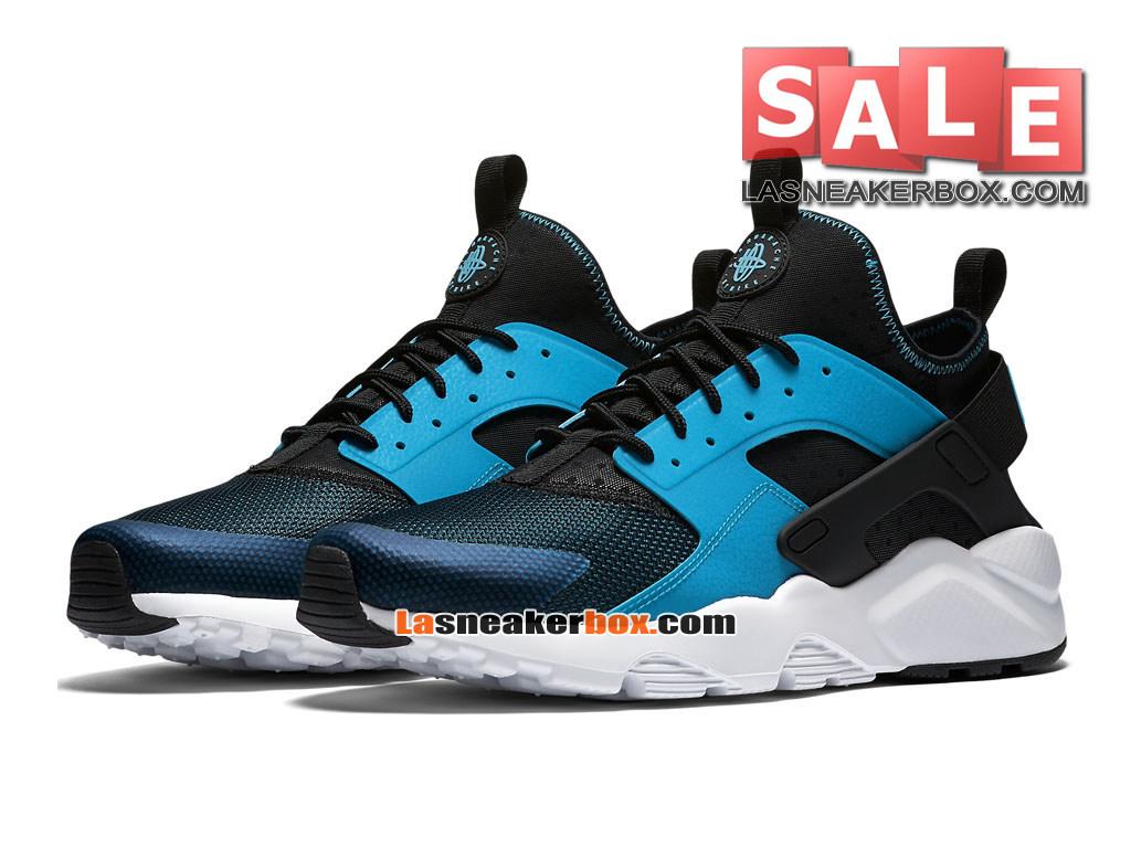 4909e44a94 ... Nike Huarache Ultra Jacquard - Men´s Nike Sports Shoe Blue  Lagoon/Black/ ...