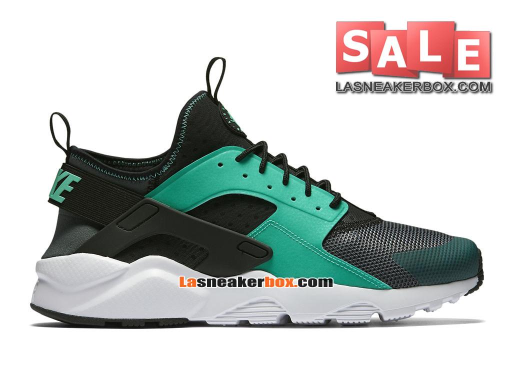 low priced 17353 99be8 Nike Huarache Ultra Jacquard - Chaussure Nike Sportswear Pas Cher Pour  Homme Gris foncé Noir ...