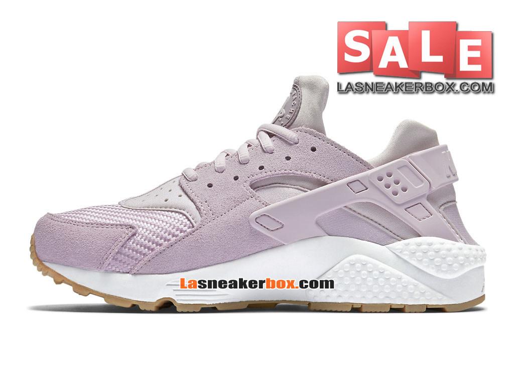 finest selection fc25c b8cd8 ... Nike Huarache Ultra Jacquard - Chaussure Nike Sportswear Pas Cher Pour  Homme Lilas délavéLilas ...