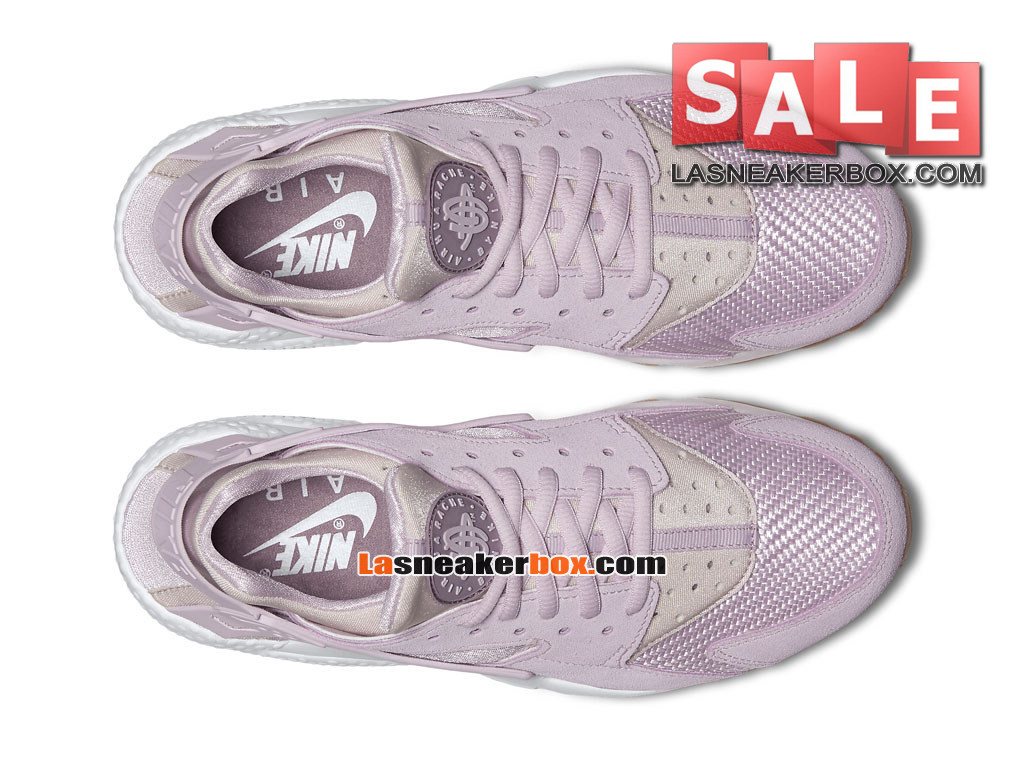 02408c3acd ... Nike Huarache Ultra Jacquard - Chaussure Nike Sportswear Pas Cher Pour  Homme Lilas délavé/Lilas ...