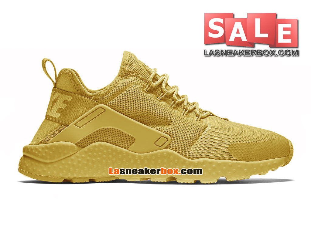 Nike Huarache Ultra Jacquard - Chaussure Nike Sportswear Pas Cher Pour Homme Or canyon/Or université/Or canyon 819151-991H
