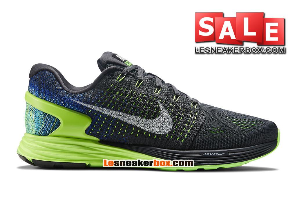 f2c99c7f76ef Nike LunarGlide 7 - Men´s Nike Running Shoe Anthracite Game Royal Blue ...