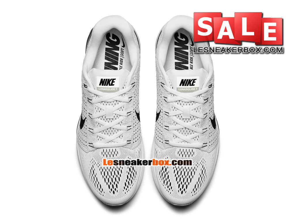 check out fcd21 946bd ... Nike LunarGlide 7 - Men´s Nike Running Shoe White Anthracite Cool Grey  ...