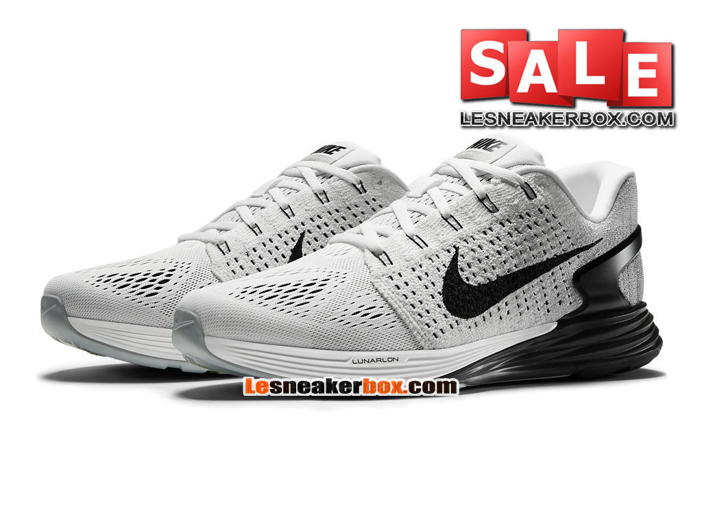 check out 716e9 b6f88 ... Nike LunarGlide 7 - Men´s Nike Running Shoe White Anthracite Cool Grey  ...