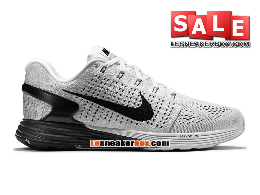 uk availability 5e955 0c67b low cost nike lunarglide 7 mens nike running shoe white anthracite cool  grey 9cd9e 6ac38