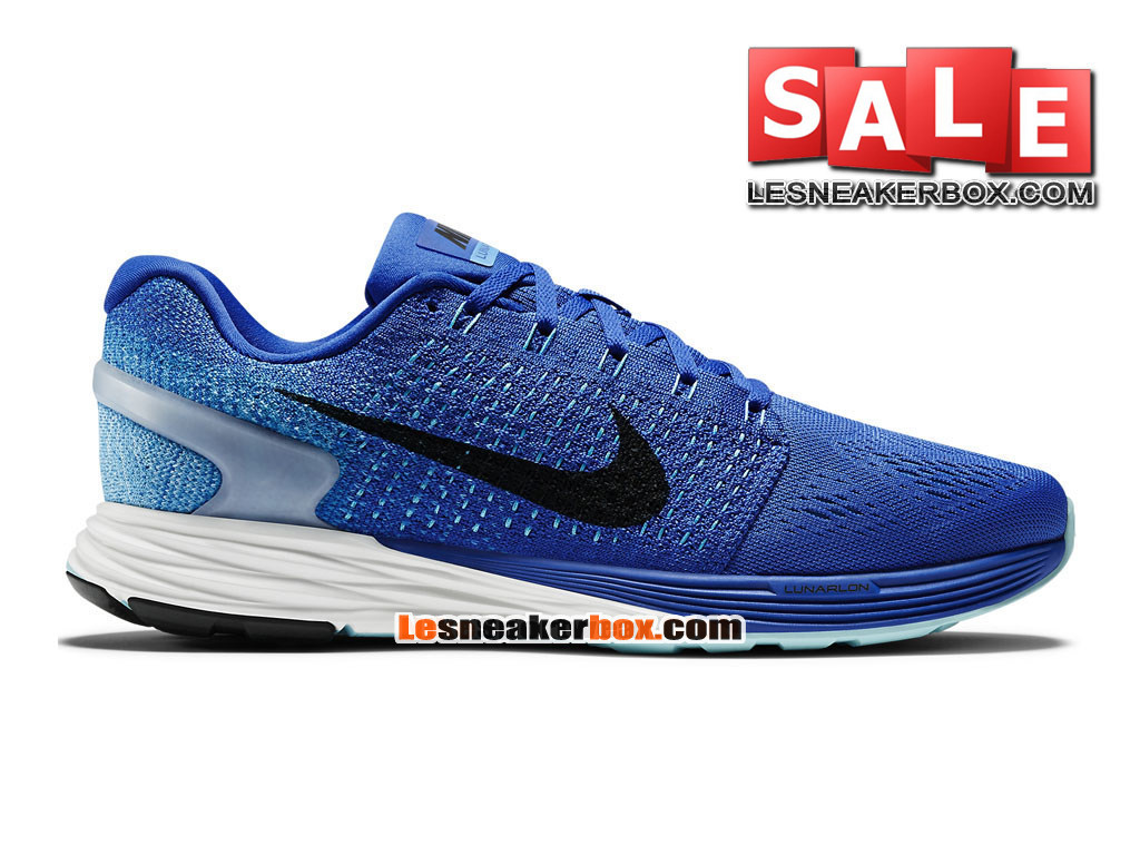huge selection of 9fa5a 623fd Nike LunarGlide 7 - Men´s Nike Running Shoe Game Royal Blue Lagoon