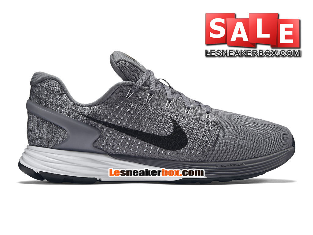 quality design f4f80 939bc Nike LunarGlide 7 - Men´s Nike Running Shoe Cool Grey Pure Platinum  ...