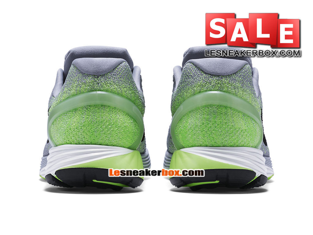new product 884f1 7a369 ... Nike LunarGlide 7 - Men´s Nike Running Shoe Wolf Grey Ghost Green  ...
